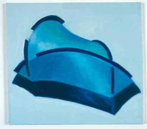 Kleines Blaues Zelt