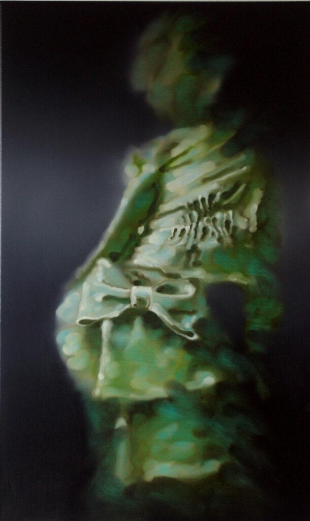 Grünes Püppchen