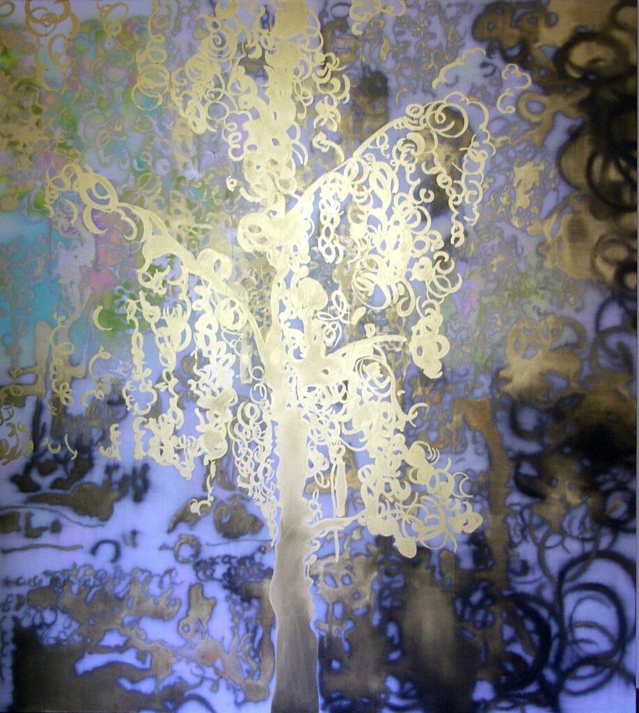 Grosser, Goldener Baum